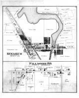 Kewaskum, Fillmore PO, Washington and Ozaukee Counties 1892
